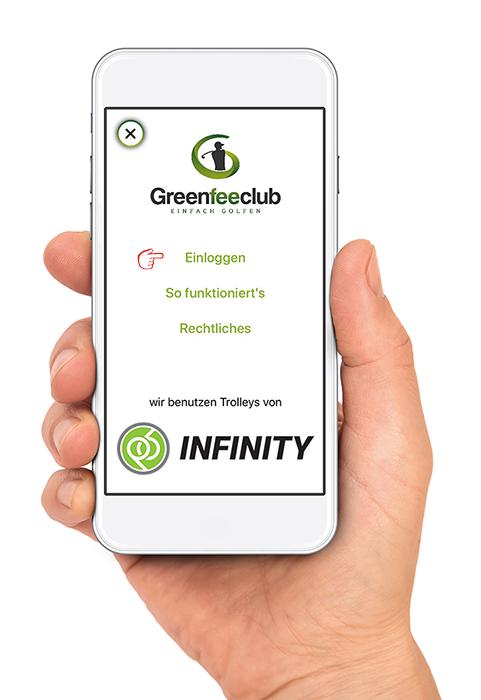 Greenfeeclub einloggen